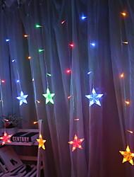 Недорогие -2,5м Гирлянды 20 светодиоды Тёплый белый / Разные цвета Декоративная / Cool Аккумуляторы AA