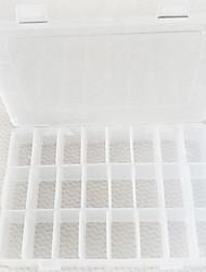 Недорогие -Место хранения организация Ювелирная коллекция пластик Квадратная Открытая крышка