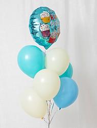 Недорогие -Воздушный шар Латекс 8шт День рождения / Сказка