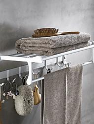 Недорогие -Полка для ванной Новый дизайн Современный Алюминий 1шт 4-полосная доска На стену
