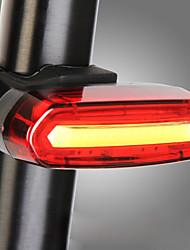 Недорогие -Задняя подсветка на велосипед Светодиодная лампа Велосипедные фары Велоспорт Водонепроницаемый, Портативные, Очаровательный Литий-ионная аккумуляторная батарея 120 lm