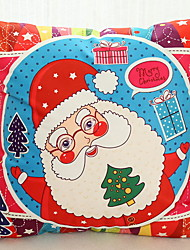 Недорогие -Наволочка Новогодняя тематика / Праздник Ткань Прямоугольный Оригинальные Рождественские украшения