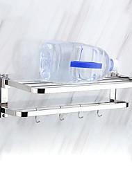 Недорогие -Держатель для полотенец / Полка для ванной Новый дизайн Современный Нержавеющая сталь / железо 1шт На стену