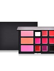 billiga Ansikte-12 färger Matt Concealer Foundation / Puder / Concealer Kina Fullständig Täckning Skola / Datum / Semester Smink Kosmetisk