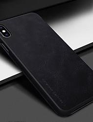 Недорогие -Nillkin Кейс для Назначение Apple iPhone XS / iPhone XR Бумажник для карт / Флип Чехол Однотонный Твердый Кожа PU для iPhone XS / iPhone XR / iPhone XS Max