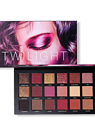 cheap -Make-up For You 18 Colors Eye Shadow EyeShadow Cruelty Free / Formaldehyde Free / Pro Shimmer glitter gloss Coverage Long Lasting Daily Makeup / Halloween Makeup / Party Makeup Makeup Cosmetic
