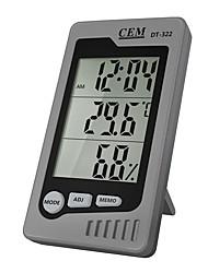 abordables -cem dt-322 thermomètre électronique multifonction domestique de haute précision, hygromètre