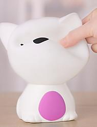 cheap -1pc LED Night Light USB Cartoon / Color-Changing / Adorable 5 V