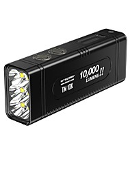 cheap -Nitecore TM10K Handheld Flashlights / Torch LED 1 with Batteries and Charger Cool Everyday Use