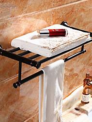 abordables -Barre porte-serviette Design nouveau Moderne Acier inoxydable 1pc Double Montage mural
