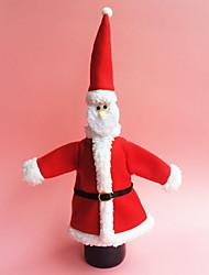 baratos -Sacos e Transportadores de Vinho Natal / Férias Não-Tecelado Rectângular Decoração de Natal