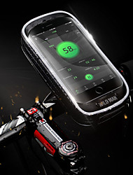 Недорогие -Бардачок на руль 5.7-6.3 дюймовый Сенсорный экран, Водонепроницаемость Велоспорт для Велосипедный спорт Черный