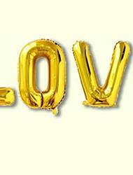 Недорогие -Воздушные шары Круглые Творчество Вечеринка Декорации для вечеринок 1 комплект