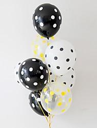 abordables -Lot de ballons Latex 8pcs Vacances