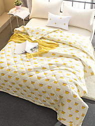 baratos -Confortável - 1 Cobertura de Cama Verão Poliéster Geométrica
