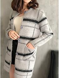 cheap -Women's Basic Cardigan - Striped