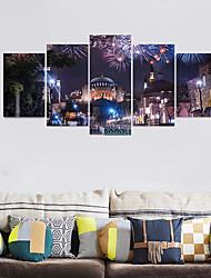 Недорогие -Декоративные наклейки на стены - 3D наклейки Абстракция / Пейзаж Гостиная / Детская