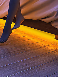 Недорогие -BRELONG® 1 комплект LED Night Light Тёплый белый От электросети Для детей / Диммируемая / Датчик человеческого тела 220-240 V / 110-120 V
