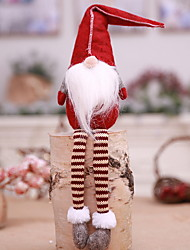 Недорогие -Рождественский декор / Рождественские украшения Праздник Хлопковая ткань куб Мультфильм игрушки Рождественские украшения