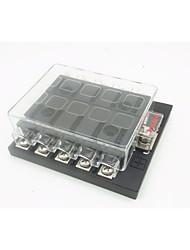 Недорогие -dc32v 100a коробка для плавких вставок автомобиля / корабля 10-контактный выход (30a за контур) одиночная мощность