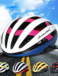 billiga Sport och friluftsliv-Scohiro-Work Vuxna cykelhjälm 29 Ventiler ESP+PC sporter Cykling / Cykel / Inlinesåkning - Svart / röd / Blå / Vit / Svart / Guld Unisex