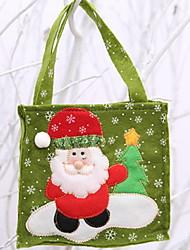baratos -Bolsa / Natal Natal Tecido Não-Tecelado Quadrada Novidades Decoração de Natal