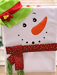 Недорогие -Накидка на стул / Подарки Праздник Нетканый материал Для вечеринок Рождественские украшения