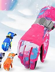 Недорогие -Зимние Муж. / Жен. Полный палец С защитой от ветра / Водонепроницаемость / Сохраняет тепло PU Катание на лыжах / Снежные виды спорта / Сноубординг Зима