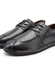 ad796b7f7f7c Ανδρικά Παπούτσια άνεσης PU Φθινόπωρο Oxfords Μαύρο   Καφέ   Χακί