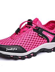 Недорогие -Жен. Комфортная обувь Сетка Весна & осень На каждый день Спортивная обувь Для пешеходного туризма На плоской подошве Лиловый / Пурпурный