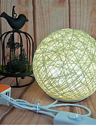 Недорогие -hkv® теплый белый 3w ручной переключатель украшение ночной свет USB зарядка настольная лампа вел свет ночи лампа лампа настольная лампа рождественский подарок свет dc5v