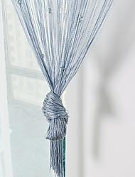 Недорогие -Панель двери Шторы занавески Запись и грязелечения Современный стиль Полиэстер Активный краситель