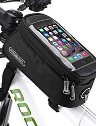 Недорогие -ROSWHEEL Сотовый телефон сумка / Бардачок на раму 5.5 дюймовый Велоспорт для Велосипедный спорт Черный