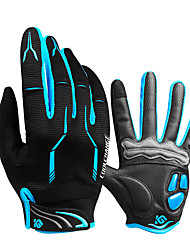 Недорогие -CoolChange Перчатки для велосипедистов Перчатки для горного велосипеда Горные велосипеды Дышащий Противозаносный Впитывает пот и влагу Защитный Спортивные перчатки Силиконовый гель Махровая ткань