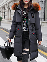 economico -Per donna Moda città / Punk & Gotico Imbottito Tinta unita / A quadri