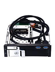 Недорогие -Unestech USB 3.0 в SATA 3.0 Лоток для конвертера жестких дисков Совместимость с HDD / Резервная память / Автоматическое конфигурирование / Многофункциональный 8000 GB ST7226U