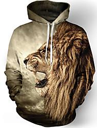 abordables -Cosplay Plus de costumes Cosplay Sweat à capuche Polyester / Coton 3D Print Pour