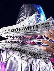 cheap -Men's Running Shoes / Sneakers Rubber Walking / Running / Jogging Lightweight, Cushioning, Ultra Light (UL) Net White / Black / Red