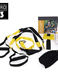 cheap -Suspension Trainer Basic Kit With High Density Ripstop Adjustable Length, Convenient, Strength Training Strengthens Muscle Tone, Resistance Training, Build Muscle, Tone & Tighten For Exercise