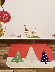 Недорогие -рождественский полиэстер с днем благодарения, коврик высшего качества