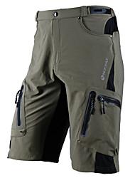 preiswerte -Nuckily Herrn Fahrradhosen - Schwarz / Grau Fahhrad Shorts / Laufshorts / Mountainbike Shorts, Wasserdicht, Rasche Trocknung, Anatomisches Design, Atmungsaktiv Lycra / Mikro-elastisch