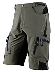 cheap -Nuckily Men's Cycling Shorts - Black / Gray Bike Shorts / MTB Shorts, Waterproof, Quick Dry, Anatomic Design, Breathable Lycra / Micro-elastic