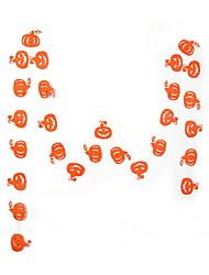 abordables -Décorations de vacances Décorations d'Halloween Halloween divertissant Décorative / Cool Orange 30pcs / 1pc