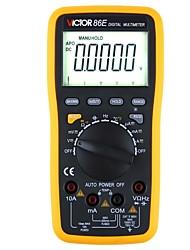 Недорогие -victor vc86e высокоточная цифровая частота / конденсатор / температурный мультиметр / с интерфейсом usb / выходом данных