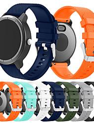Недорогие -Ремешок для часов для Vivoactive 3 Garmin Спортивный ремешок силиконовый Повязка на запястье