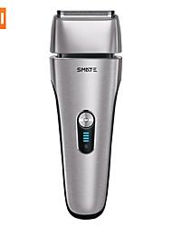 baratos -Xiaomi de quatro cabeças reciprocating recarregável barba barbeador elétrico costeletas de cabelo do cortador de 3 minutos navalha de barbear para os homens cuidados com o rosto navalhas