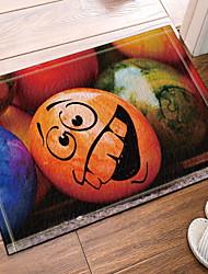 abordables -Paillasson Jour de Thanksgiving Polyester Elastique Tissé 100g / m2, Rectangulaire Qualité supérieure Couverture / Anti-dérapant