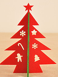 abordables -Décorations de Noël Vacances / Arbre de Noël Tissu arbre de Noël Nouveautés Décoration de Noël