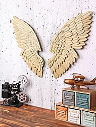 Недорогие -Домики Декор стены Металл Пастораль Предметы искусства, Металлические украшения на стену Украшение