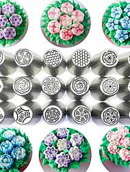 baratos -Ferramentas bakeware Aço Inoxidável Fofo Bolo Redonda Moldes de bolos / Rolo da Massa 1pç